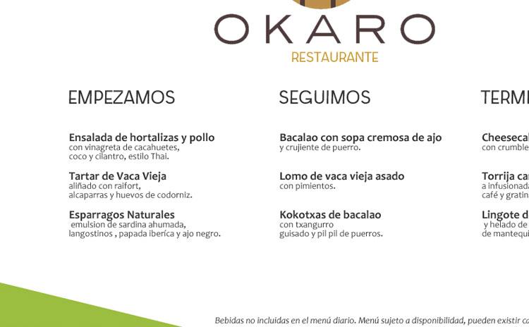Diseño Carta Menú Restaurante
