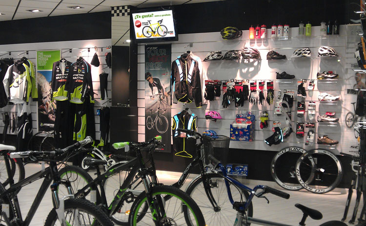 Display Comercio Bicicletas