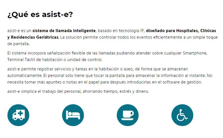 Web Llamada IP asist-e