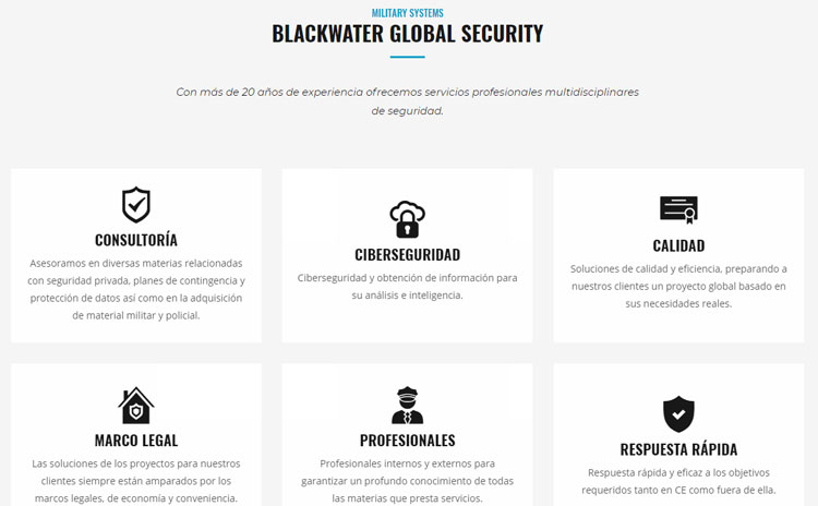 Web Blackwater