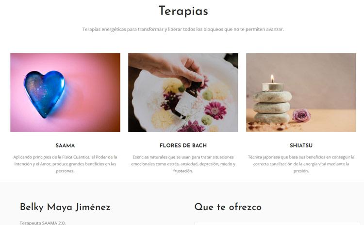 Web Terapias Belky Jiménez