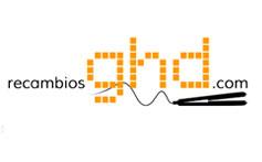 Página web Recambios GHD