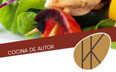 Diseño carta menú OKARO